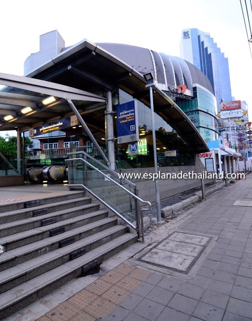 MRT Thailand Cultural Center